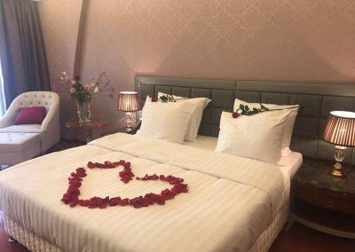 Chasse Hotel honeymoon